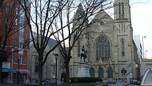 Covenant-First Presbyterian Church, which celebrated its 225th anniversary in 2015, has a reverence for tradition but a focus on the future.  The congregation is engaging in new ministries to connect with downtown Cincinnati's surging residential population.